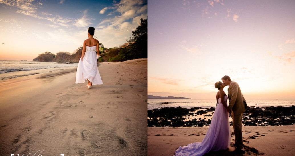 Wedding Photography - Pon and Andrew - Playa Flamingo - Costa Rica