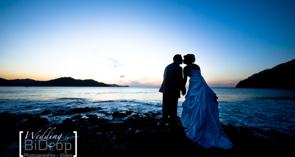 New wedding website for wedding photography and videography in Costa Rica...