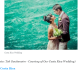 Toh Gouttenoire photo on Travel Yahoo for destination wedding article.